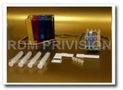 СНПЧ (Система непрерывной подачи чернил) для струйных принтеров Epson С62, CX3200