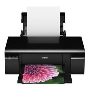 Эпсон Т50 печать сублимационными чернилами