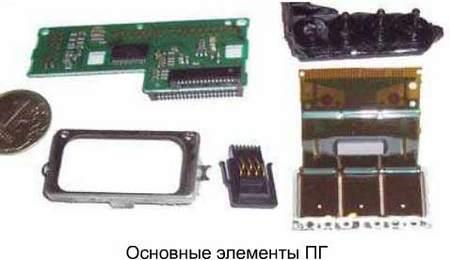 Печатающие пьезо головки Epson. Их устройство и принцип работы.